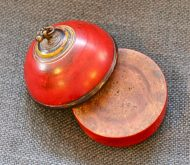 Boite Rajasthan en bois laqué