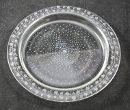 Cloche à fromage en cristal