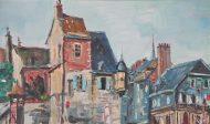 Peinture port de Honfleur