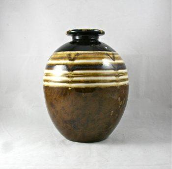 vase boule art déco XXème tharaud