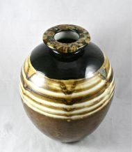 Vase boule art déco Tharaud