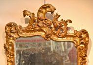 Miroir XVIIIème en bois doré