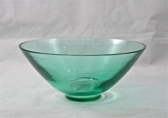 coupe en verre art déco A. DELATTE
