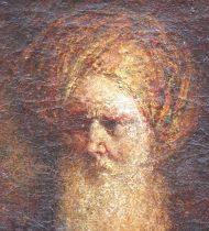 Peinture Homme au turban XXème